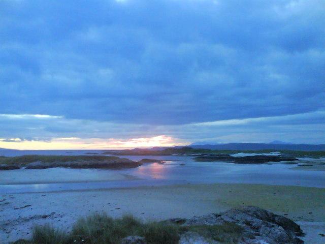 Sunset Lon Liath