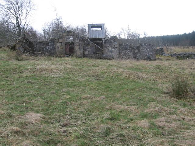 Bidhouse ruin