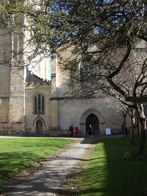 Cloisters, Exeter Cathedral