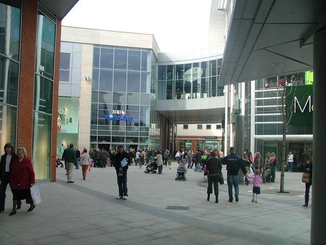 The Eden Shopping Centre
