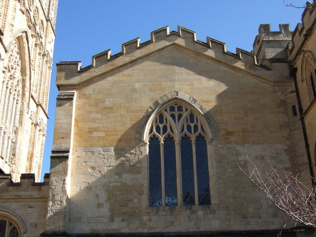 Wall of Chapter House, Exeter Cathedral
