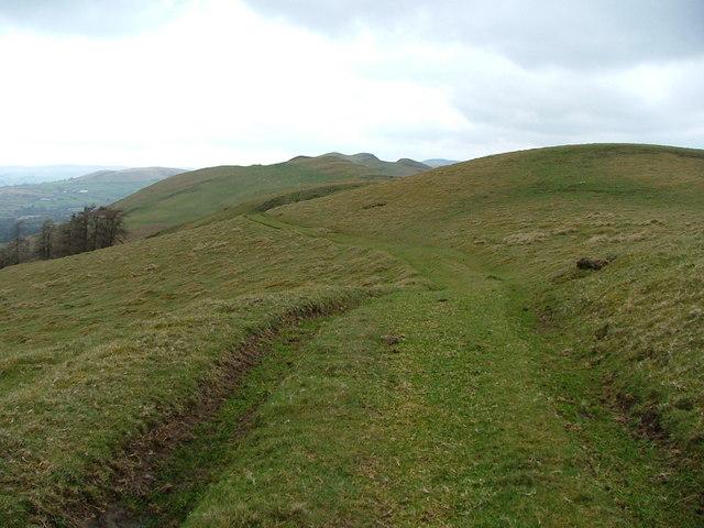 Old track leading to Bwlch y Cefn