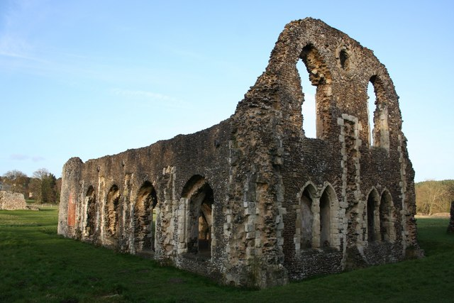 Waverley Abbey ruins