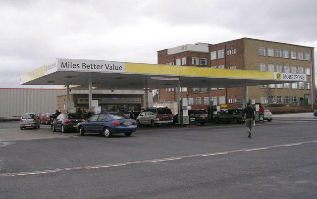 Morrison's Petrol Filling Station - Thornbury