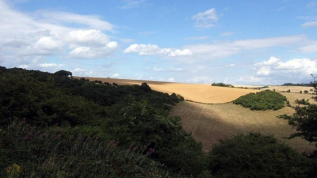 The Sussex Downs near the Chattri, Brighton