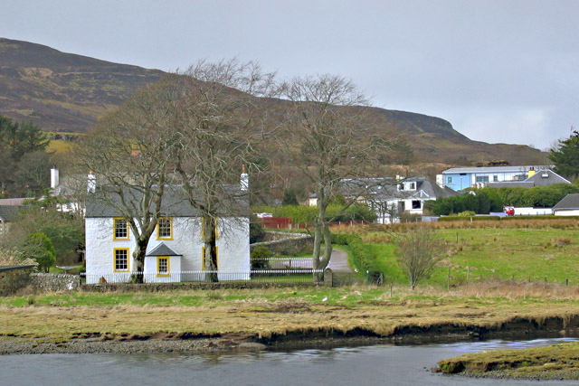 House by the shore of Loch Portree