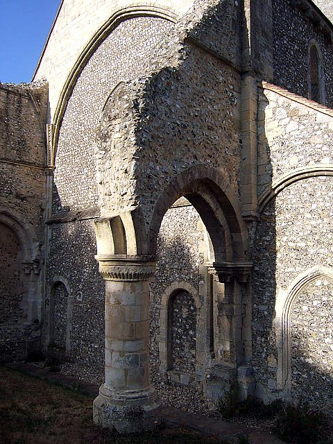 Arches at Boxgrove Priory Church, West Sussex