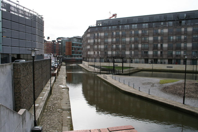 The Rochdale canal from Tariff Street