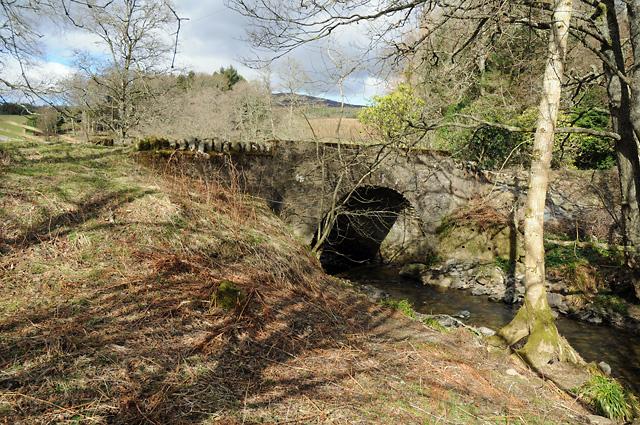 Bridge over the Dunie Burn