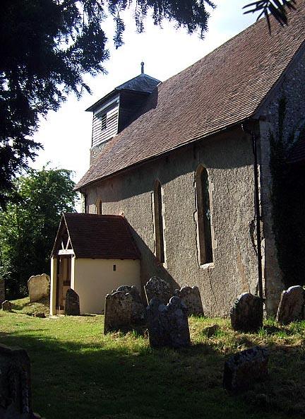Up Marden Church, West Sussex