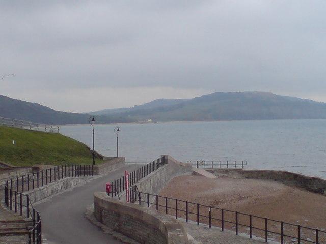 Sea front at Lyme Regis
