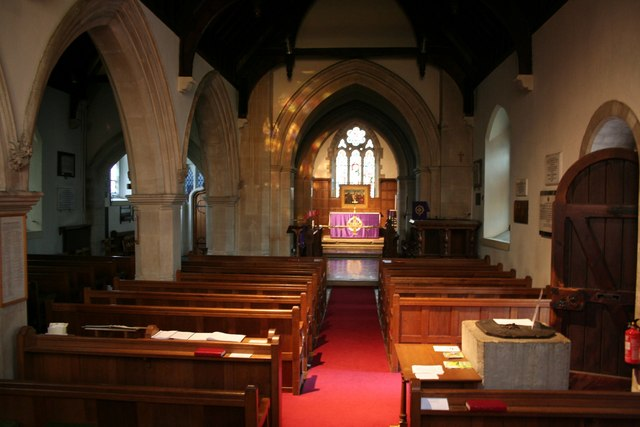 St.Laurence's nave