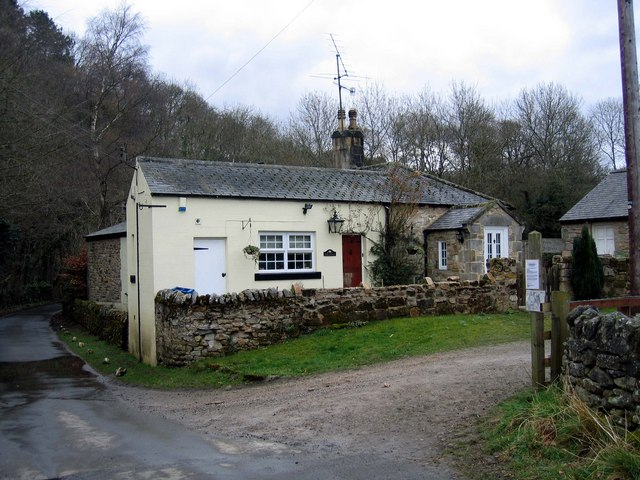 Rose Cottage near Ridley Mill, Stocksfield