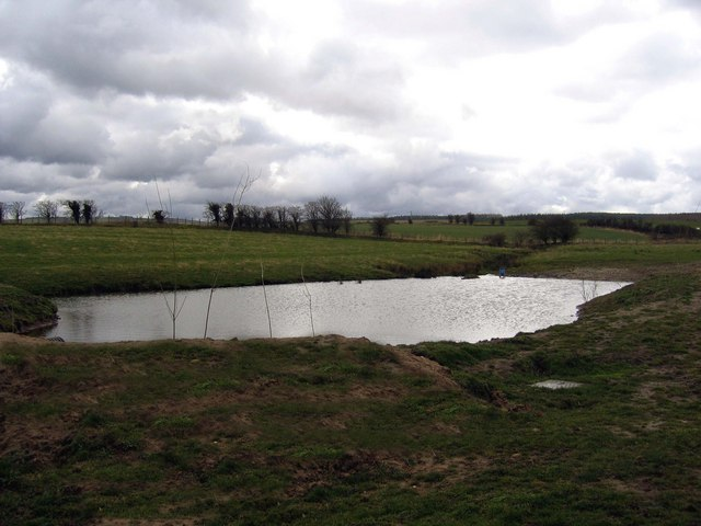 Pond east of Broomley