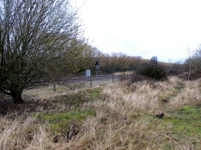 Railway towards Bletchley