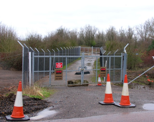 Back entrance to Millbrook Proving Ground