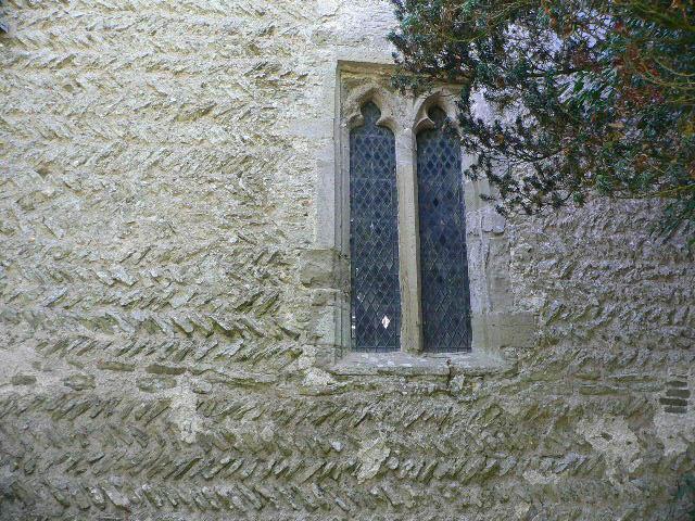 Herringbone Brickwork at Wigmore Church