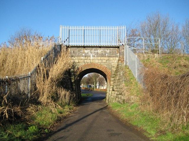 Oxford: Minchery Road railway bridge