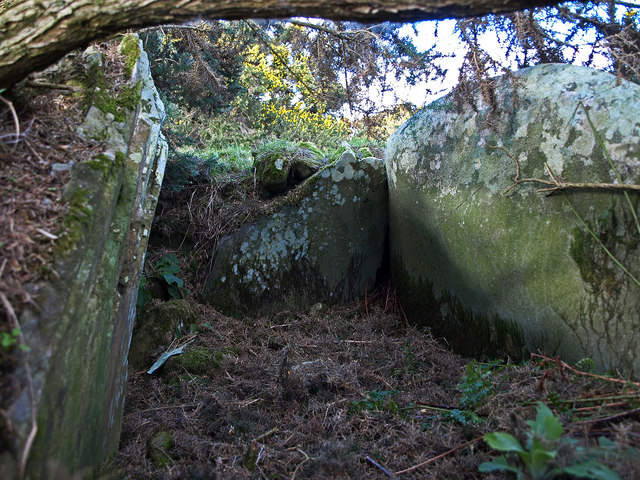 High Gillespie chambered cairn
