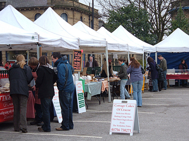 Local Produce Market, Saltaire