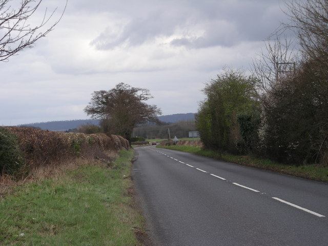 A458 to Much Wenlock
