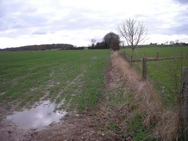Footpath to Betton Grange - if you can find it