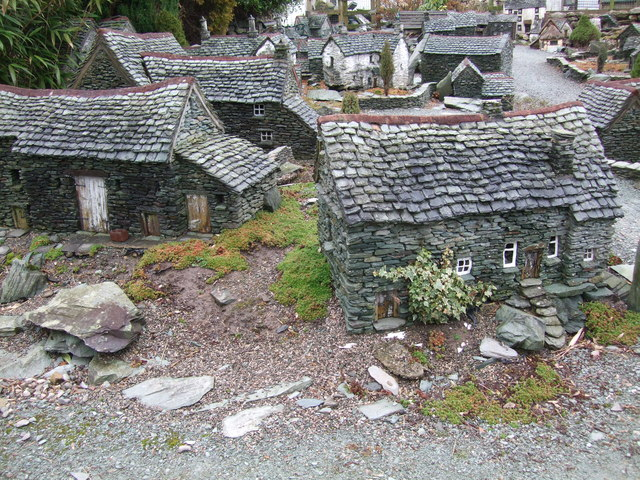 Lakeland model village at Flookburgh