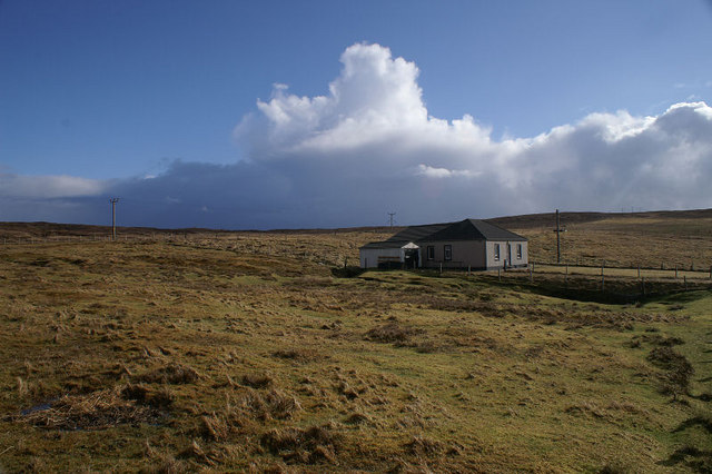 House at Setter, West Yell