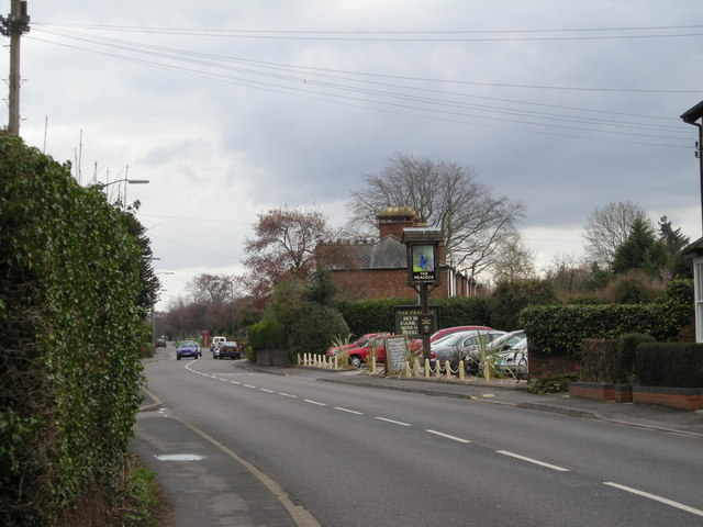 A 458 past 'The Peacock'