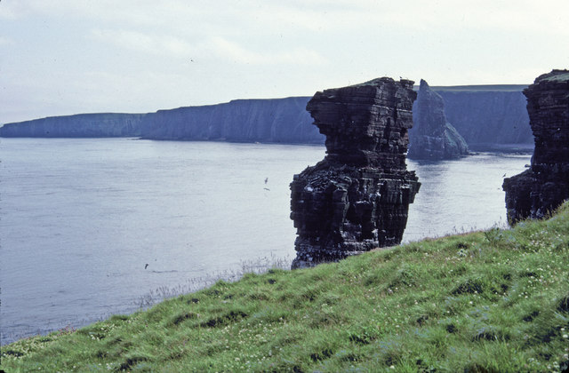 The Knee Sea Stack, Caithness, Scotland