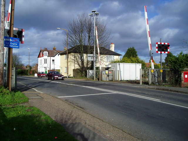Level crossing, Lyminster Road, A284