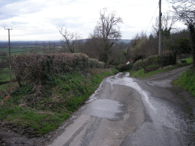 Lane to Donnington
