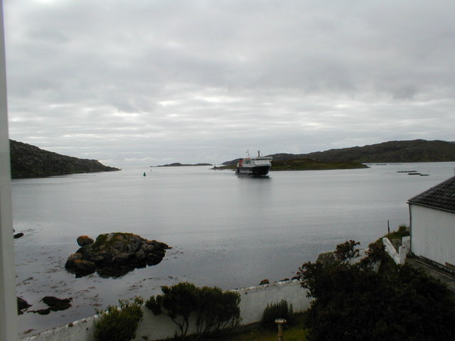 The morning ferry from Oban