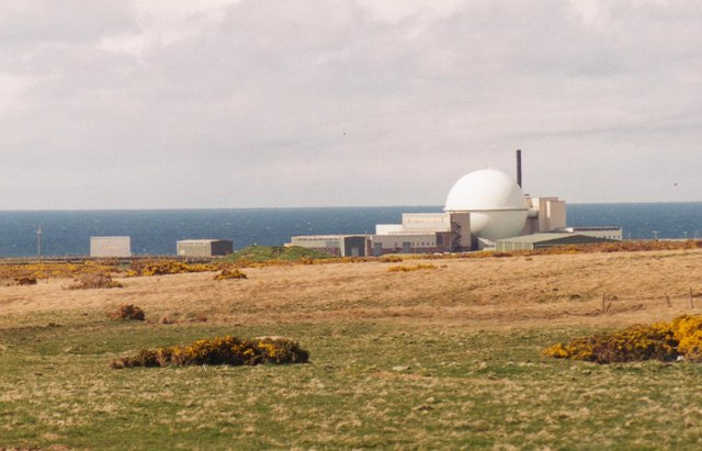 Dounreay Fast Breeder Nuclear Power Plant