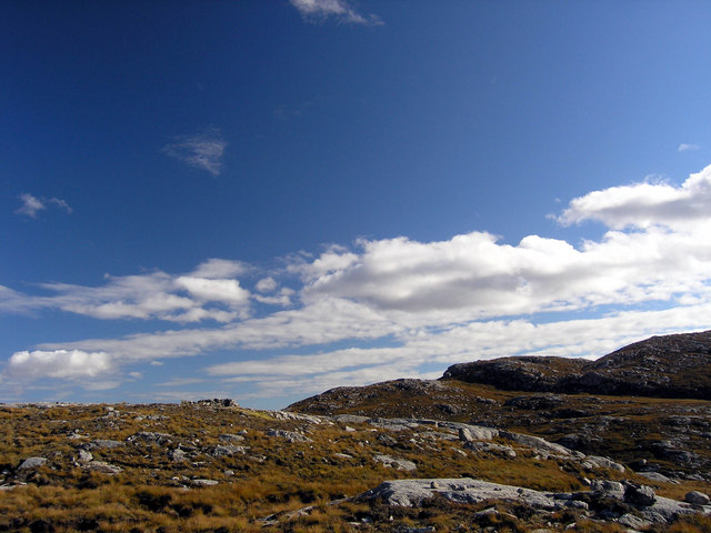 Shieling above Strome