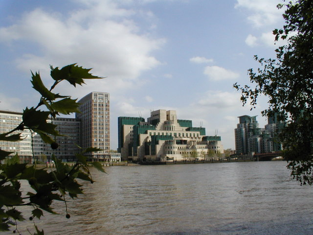 Offices on the south bank of the River Thames