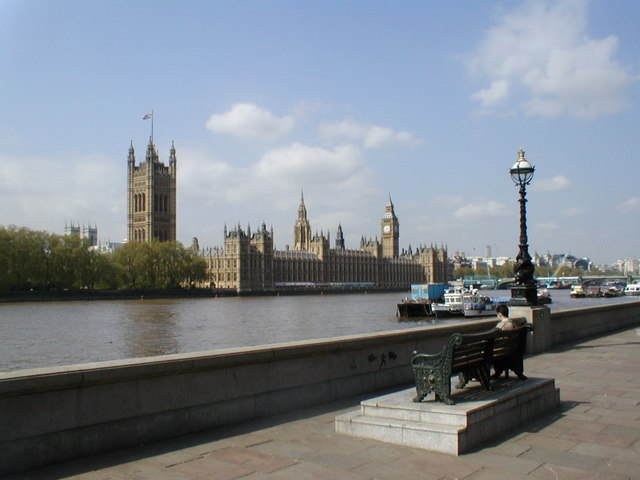 Westminster Palace & the River Thames