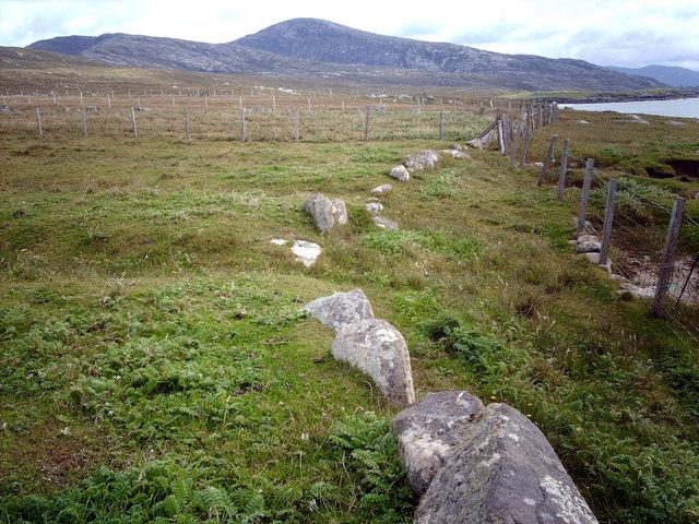 Boundary wall, Brenish