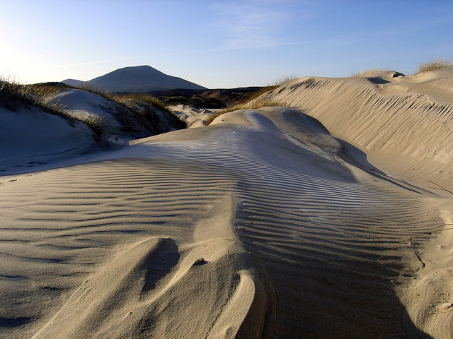Dunes at Uig Sands