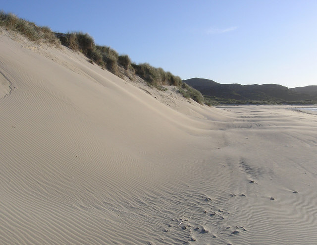 Dunes at Traigh na Berie