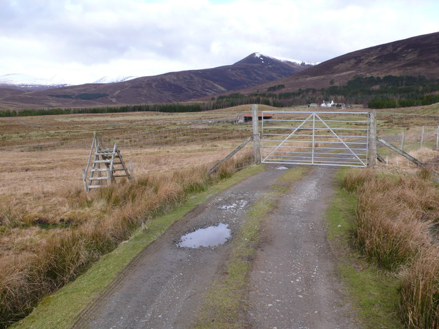 Deer fence, Strath Rannoch