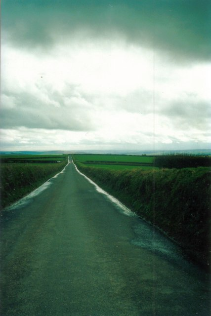 The quiet road from Ilfracombe to Barnstaple