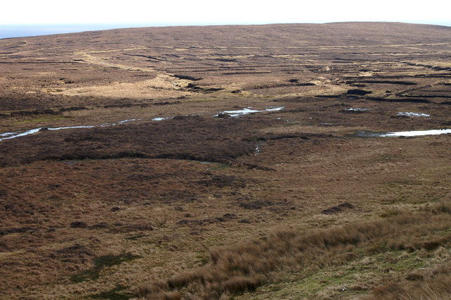 Peat hill, south of Levenwick