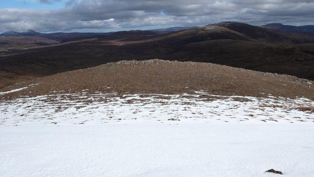 East from Carn Loch Nan Amhaichean