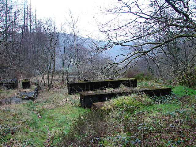 Remains of Erwtomau mine