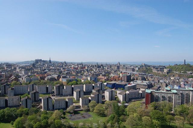 Edinburgh: the new urban landscape