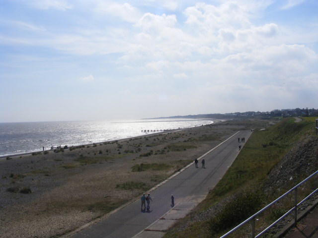 Pakefield beach