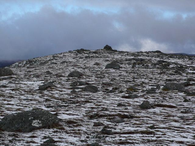 Beinn nan Eun summit