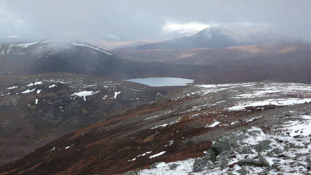 Summit views from Beinn nan Eun