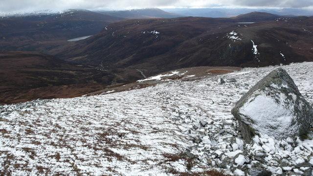 South ridge of Beinn nan Eun